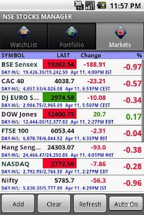 NASDAQ Stocks Live - screenshot thumbnail
