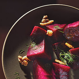 Beets with Dill and Walnuts.
