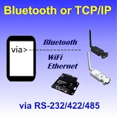 Bluetooth SPP &TCP/IP Terminal