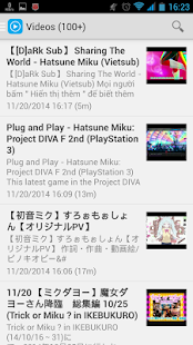 Hatsune Miku News- screenshot thumbnail