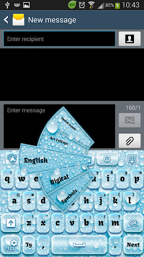 水のキーボード