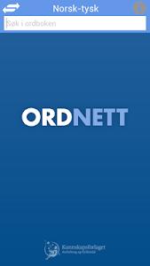 Ordnett - Tysk blå ordbok v1.0.4