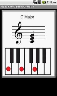 Piano Chord Book- screenshot thumbnail