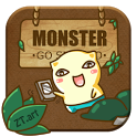 GO SMS Pro MonsterForest TheEX icon