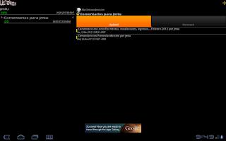 Screenshot of LectorRss