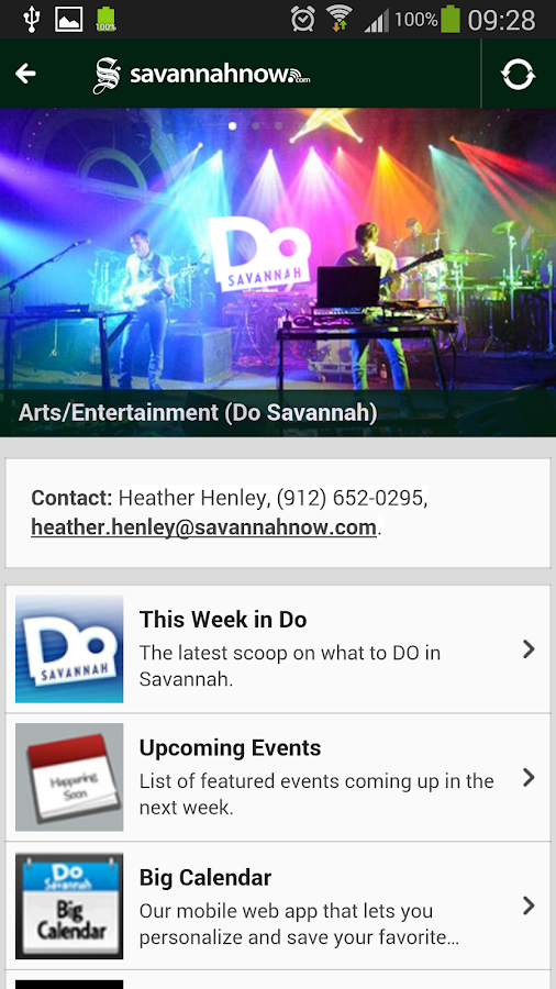 Savannahnow Mobile - screenshot