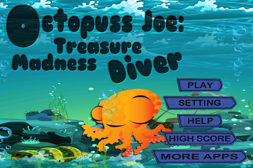 Octopus Joe Treasure Mad Diver