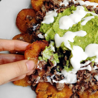 Loaded Nachos (Tostones)