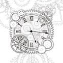 Silent Gear clockWidget logo