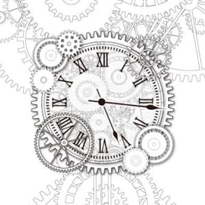 Silent Gear clockWidget