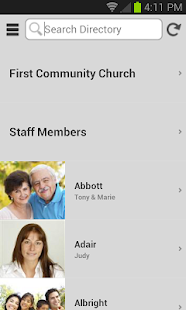 Instant Church Directory - screenshot thumbnail