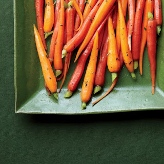 Glazed Carrots with Thyme.