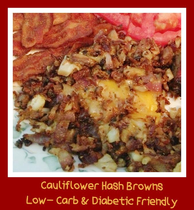 Cauliflower Hash – Low Carb & Diabetic Friendly
