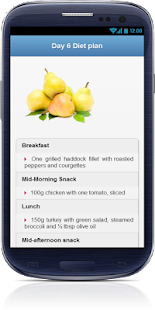 Belly Fat Burning Diet plan- screenshot thumbnail