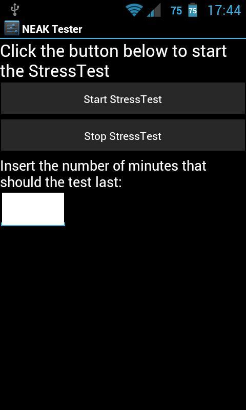 NEAK Tester (alpha) - screenshot