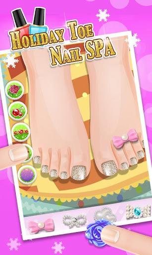 休日の足爪スパ - キッズゲーム