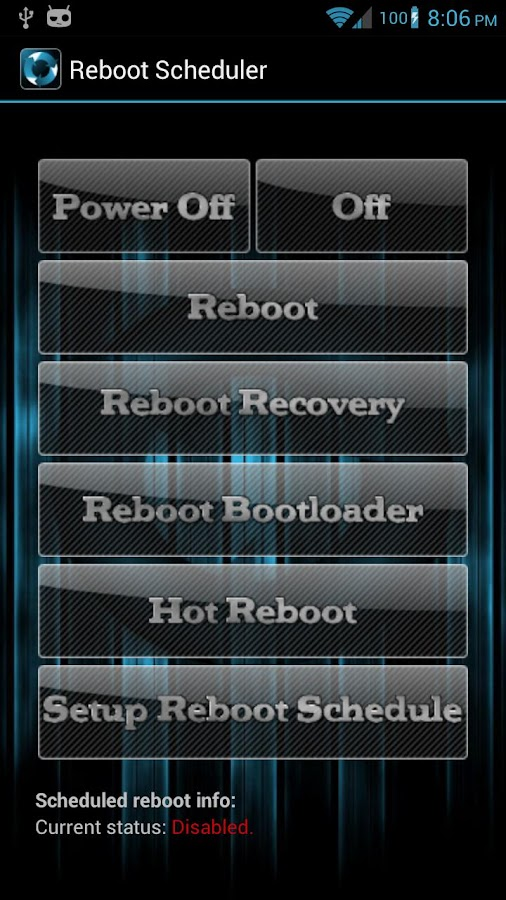 Reboot Scheduler - screenshot
