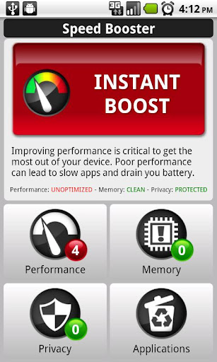 Android Speed Booster v1.43