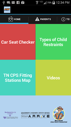 TN Child Passenger Safety