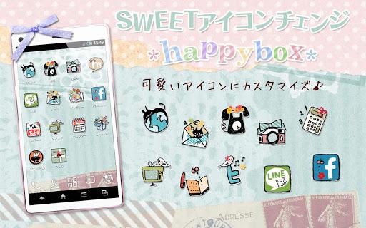 SWEETアイコンチェンジ *happybox*