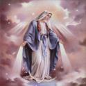 Virgin Mary Clouds LWP icon