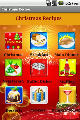 Christmas Recipes - screenshot