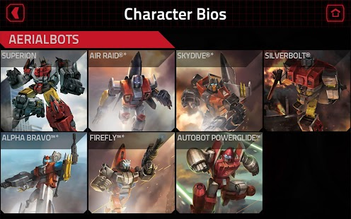 TRANSFORMERS Official App Screenshot 10