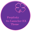 Purplinky Go Launcher EX Theme icon