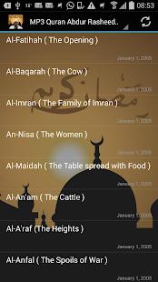 MP3 Quran Abdur Rasheed Soofy - náhled
