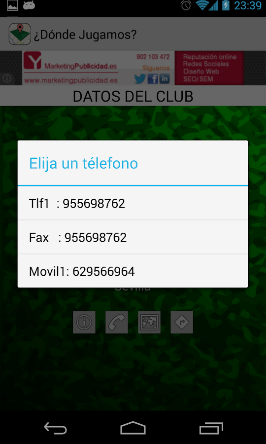 ¿Dónde Jugamos? - screenshot