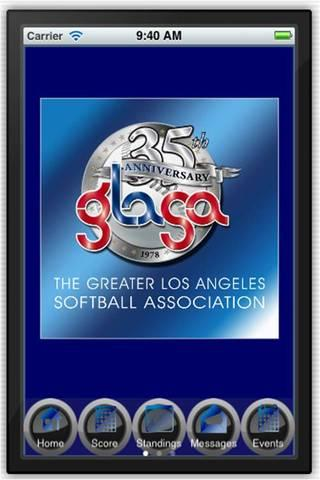 GLASA Softball - screenshot