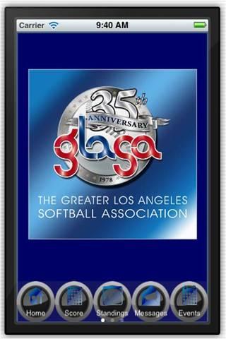 GLASA Softball - screenshot