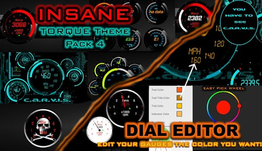 Torque Theme Pack 4 (OBD 2) - screenshot thumbnail