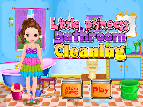 bathroom cleaning games princess bathroom cleaning apk 7 4 1 free casual apps 10082