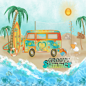 Groovy Summer GO LOCKER