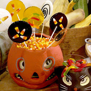 Halloween Lollipops.