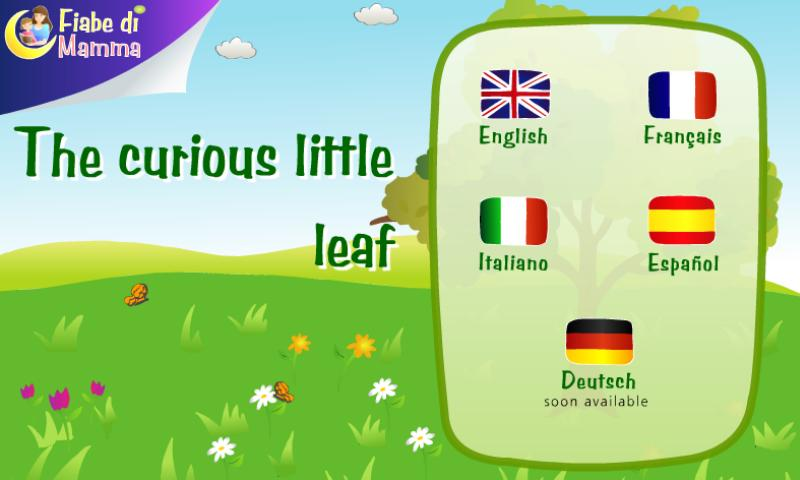 The curious little leaf - screenshot