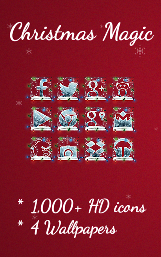 Christmas Magic - Icon Pack