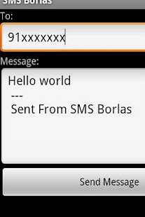 SMS Free Borlas - Portugal - screenshot thumbnail