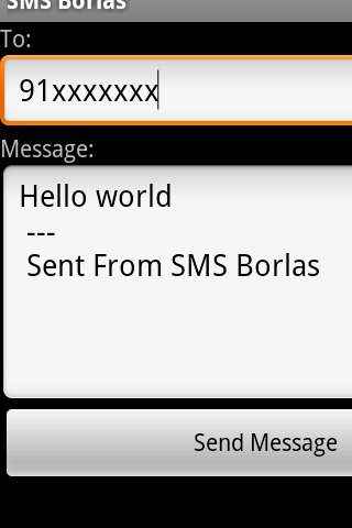 SMS Free Borlas - Portugal- screenshot