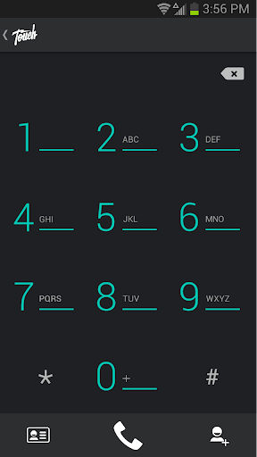 Touch Mobile Calls Messages