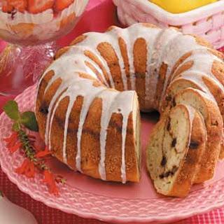 Streuseled Zucchini Bundt Cake.