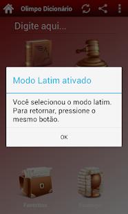 Dicionário Jurídico Gratuito - screenshot thumbnail