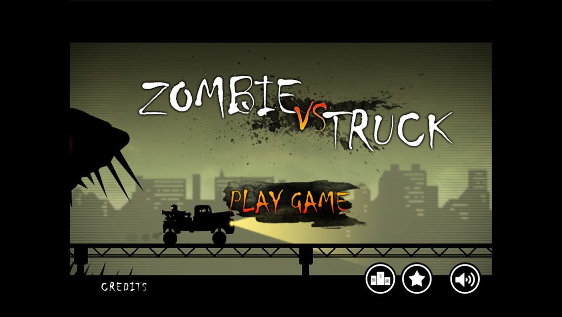Zombie vs Truck - screenshot