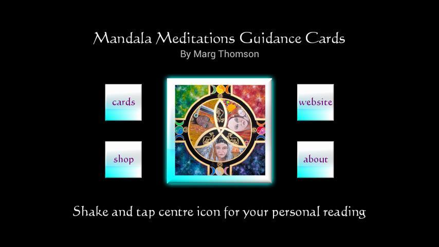 Mandala Meditations Cards- screenshot
