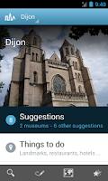 Screenshot of Dijon Travel Guide by Triposo