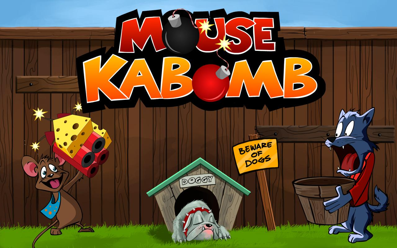Mouse KB Endless Racing Game - screenshot