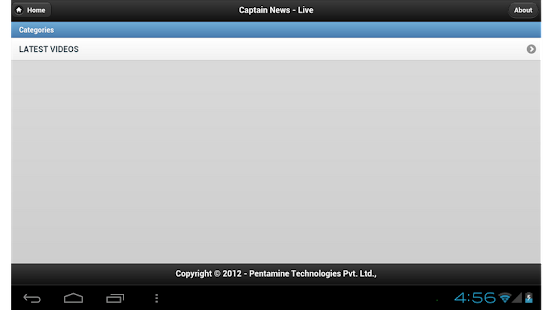 Captain News- screenshot thumbnail