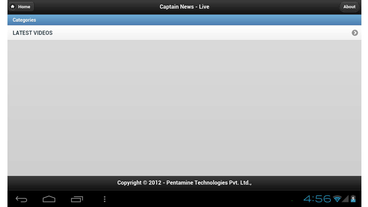 Captain News - screenshot