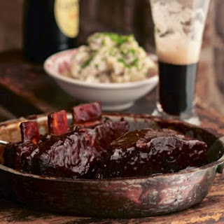 Braised Beef Short Ribs With Guinness.